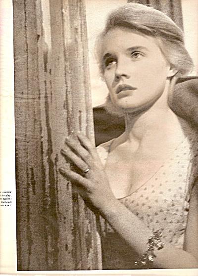 CARROLL BAKER  - movie star 1956 (Image1)