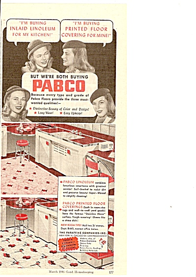 Pabco floors ad 1946 (Image1)