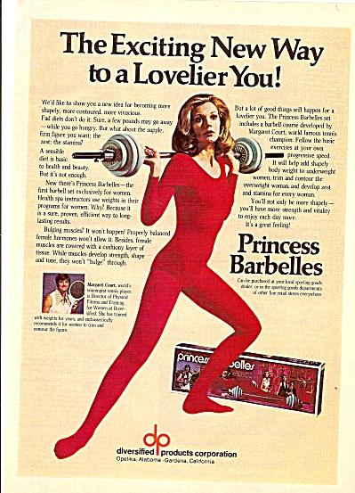 Princess Barbelles ad 1975 (Image1)