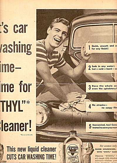 Ethyl Cleaner Ad 1947