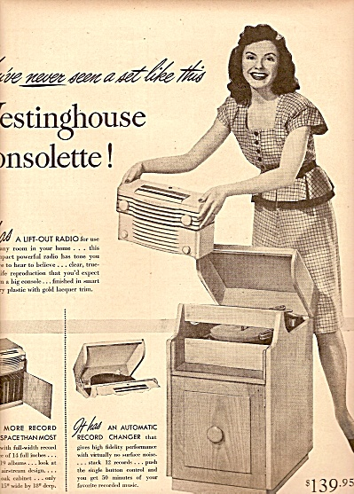 Westinghouse  radio ad 1947 (Image1)