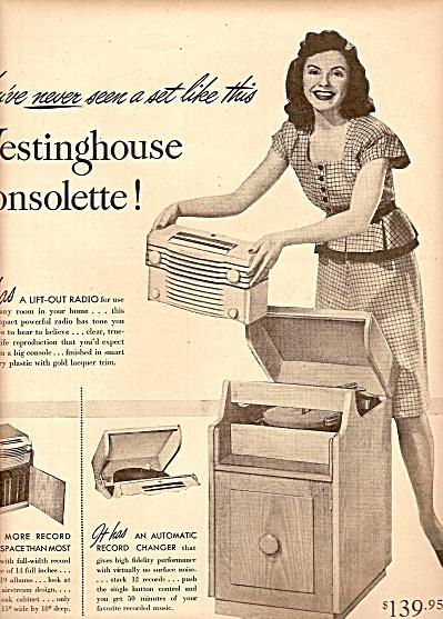 Westinghouse  radio ad 1947 (Image1)
