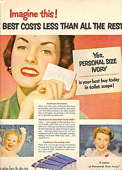 Ivory soap ad 1950 (Image1)