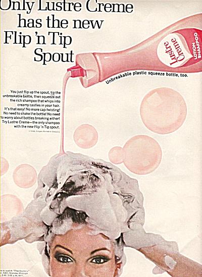 Lustre Creme shampoo ad 1968 (Image1)