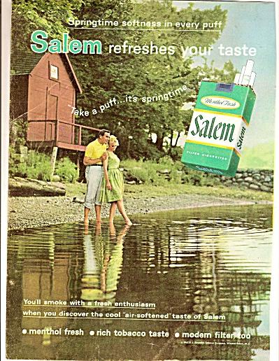 Salem cigarettes ad 1963 (Image1)