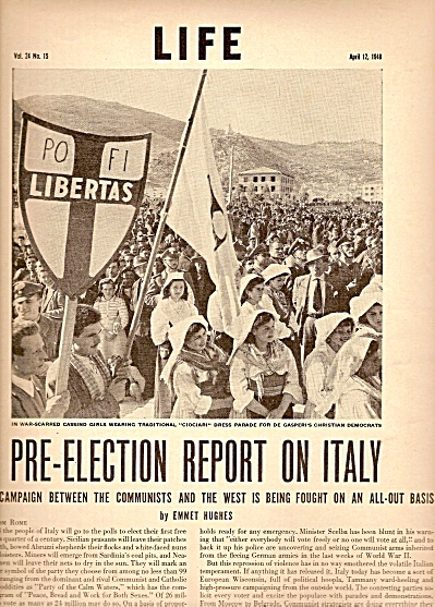 Pre-Election Report on Italy in 1948 (Image1)