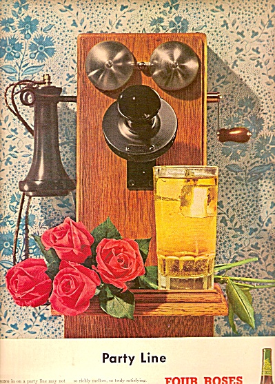 Four Roses whiskey ad 1948 (Image1)