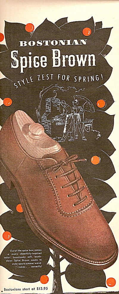 Bostonians ad 1948 (Image1)