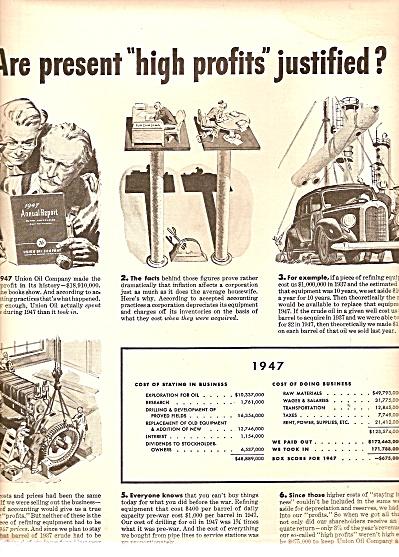 Union Oil company ad 1948 (Image1)