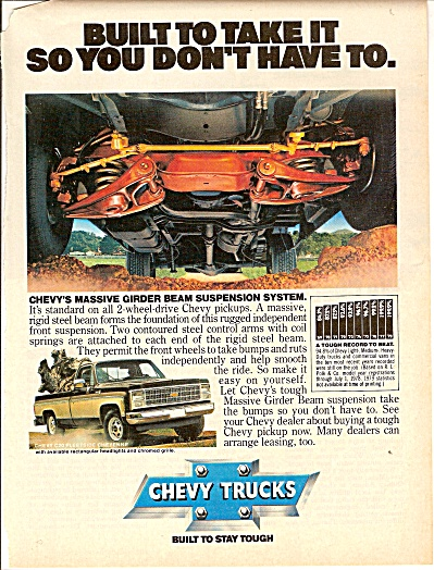 Chevrolet trucks ad 1979 (Image1)