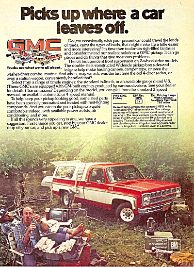 GMC  trucks ad 1979 (Image1)