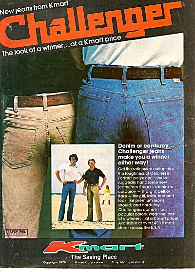 K-Mart -  Challenger pants ad 1979 (Image1)