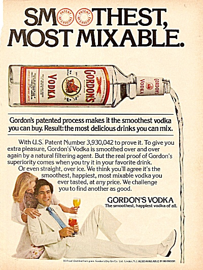 Gordon's vodka ad 1977 (Image1)