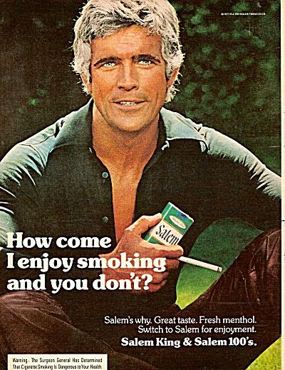Salem cigarettes ad 1977 (Image1)