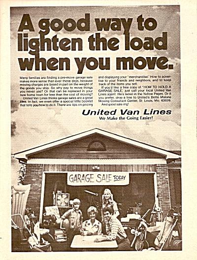 United Van Lines ad 1976 (Image1)