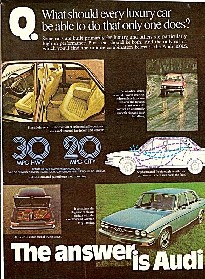 Audi autom,obile ad 1976 (Image1)