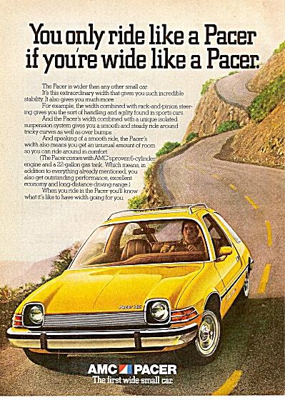AMC Pacer auto ad 1975 (Image1)
