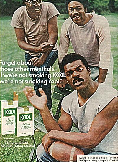 Kool cigarettes ad 1977 (Image1)