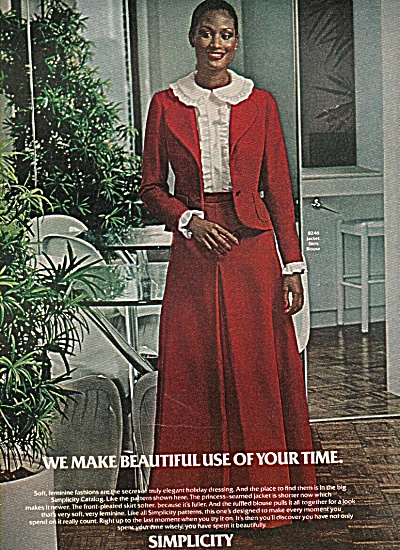 Simplicity catalog ad 1977 (Image1)
