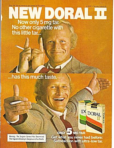 Doral cigarettes ad 1979 (Image1)