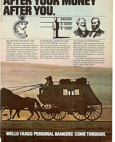 WElls Fargo Personal bankers ad 1979 (Image1)