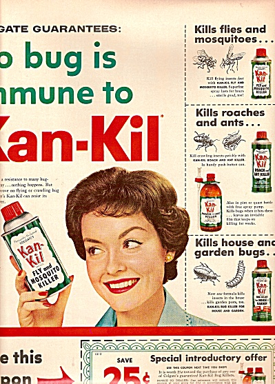 Kan-Kil fly and mosquito killer ad  1958 (Image1)