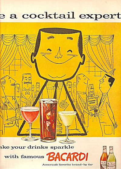 Bacardi cocktail ad 1958 (Image1)