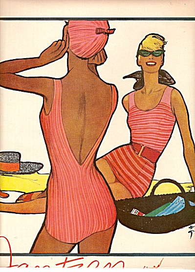 Jantzen bathing suits ad 1958 (Image1)