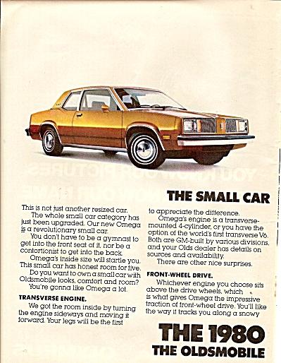 Oldsmobile Omega ad 1979 (Image1)