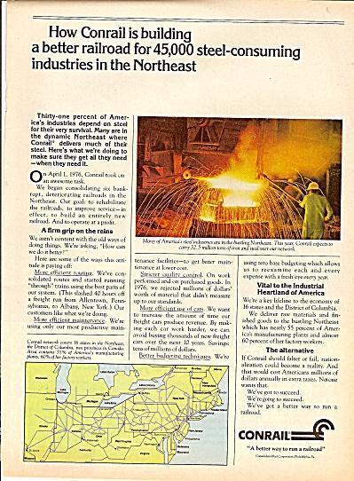 Conrail railroad ad 1977 (Image1)