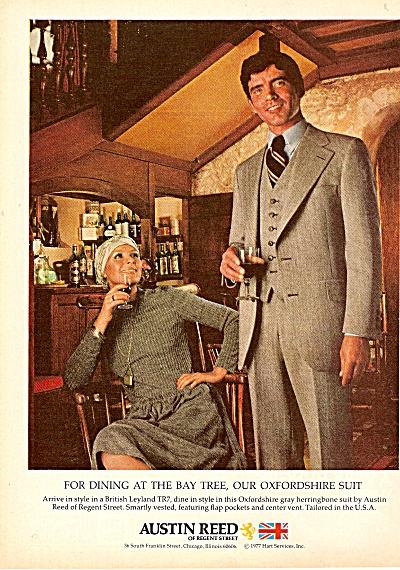 Austin Reed Of Regent Street Ad 1977