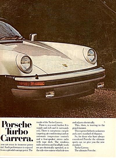 Porsche turbo carrera ad 1976 (Image1)