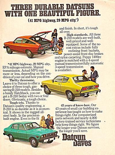 Datsun autos ad 1976 (Image1)