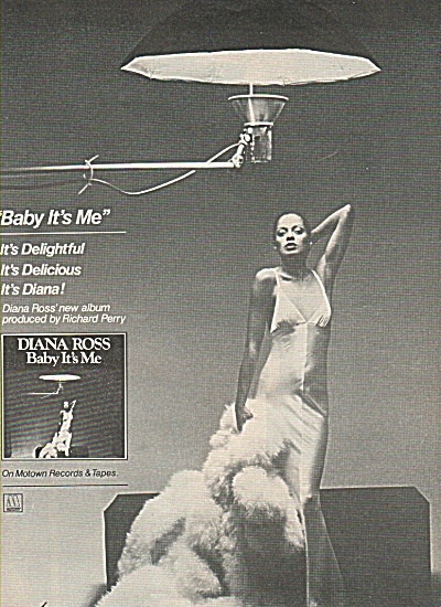 DIANA ROSS record: Baby It's Me - 1977 (Image1)