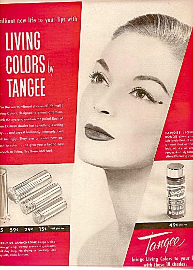 Tangee lipstick ad 1956 (Image1)