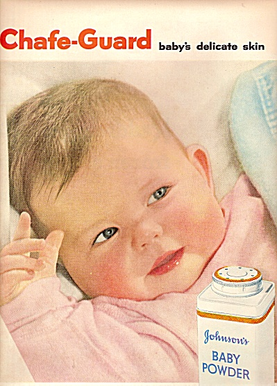 Johnson's baby powder ad 1956 (Image1)