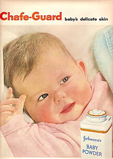 Johnson's baby powder ad 1956 (Image1)