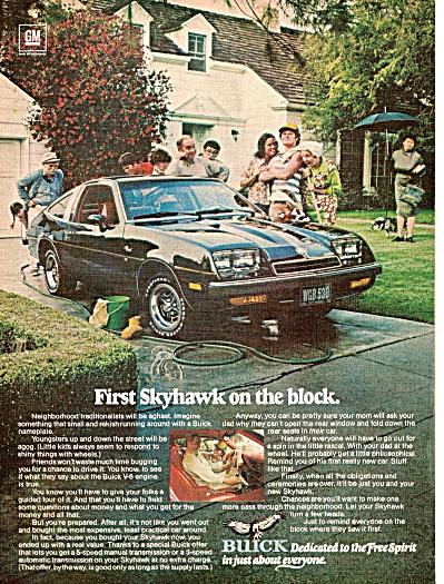 Buick Skyhawk ad 1976 (Image1)