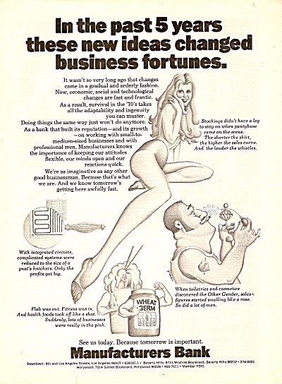 Manufacturers bank  ad 1972 (Image1)
