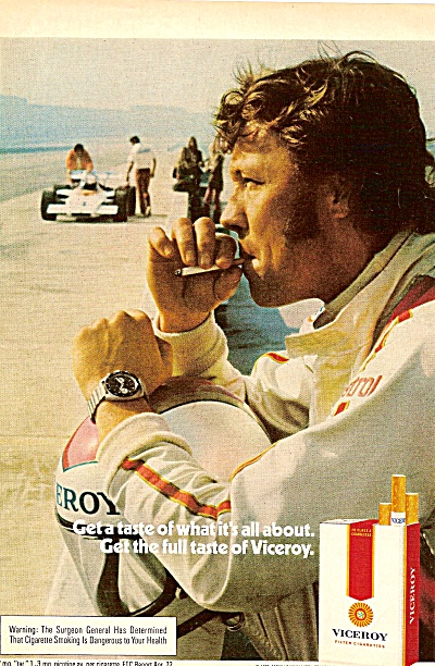 Viceroy cigarettes ad  1972 (Image1)