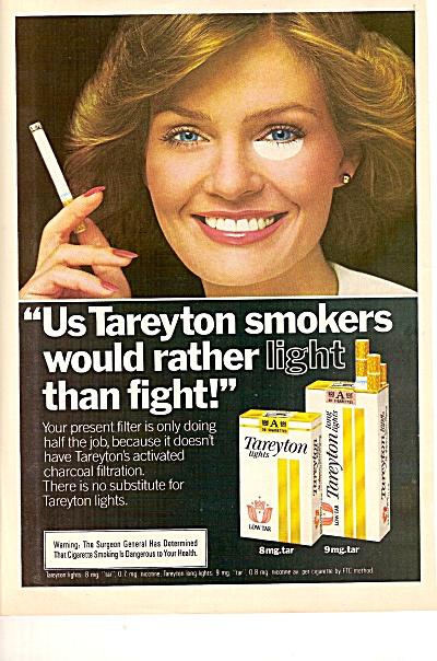 Tareyton lights ad 1979 (Image1)