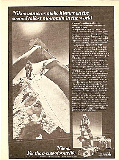 Nikon camera ad 1979 (Image1)