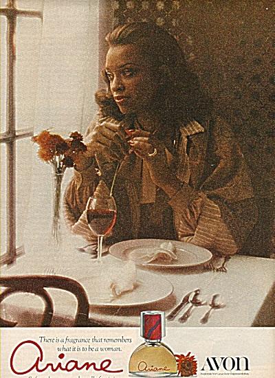 Ariane by Avon ad 1977 (Image1)