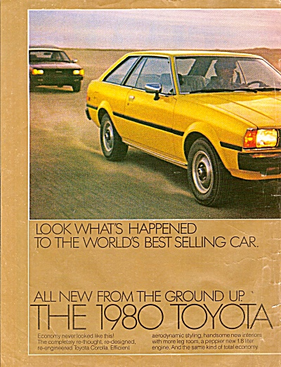 Toyota autos for 1980 ads (Image1)