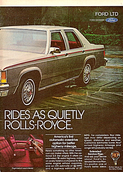The 1980 Ford LTD ad 1979 (Image1)