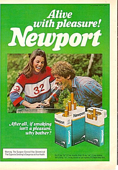 Newport cigarettes ad 1979 (Image1)