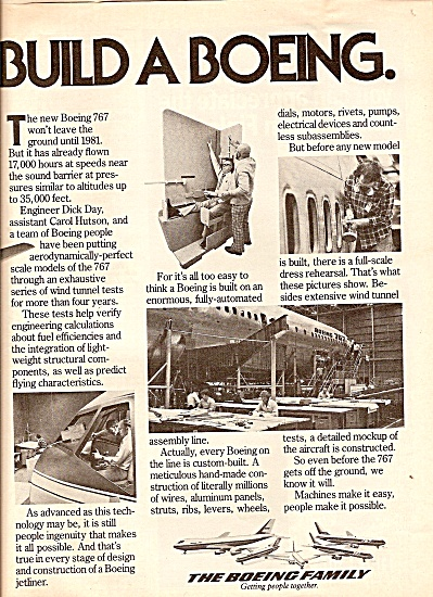The Boeing Family Ad 1979