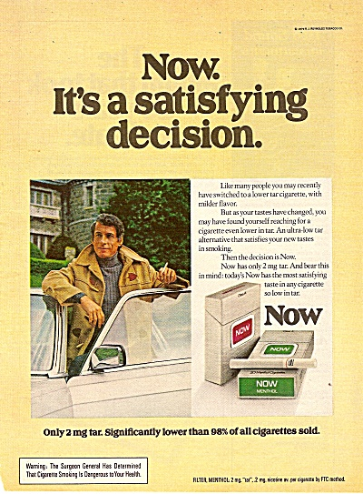 Now cigarettes ad 1979 (Image1)