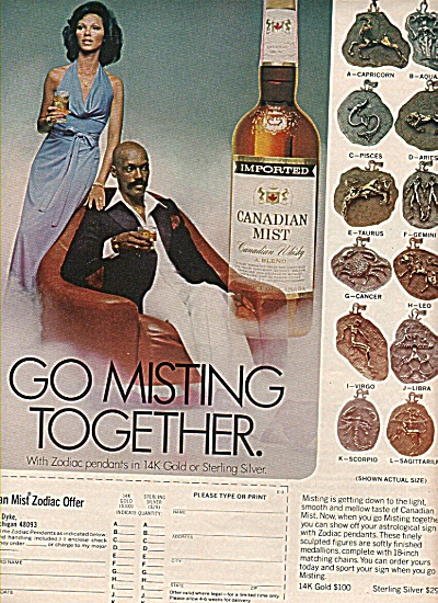 Canadian Mist Ad 1977
