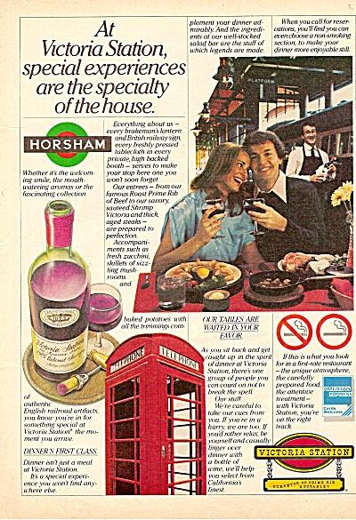 Victoria Station -  Horsham ad 1979 (Image1)